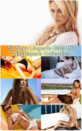 50 Sexy Lingerie Girls HQ Wallpapers Collection