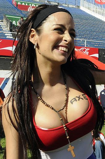 Larissa Riquelme – Fan pics