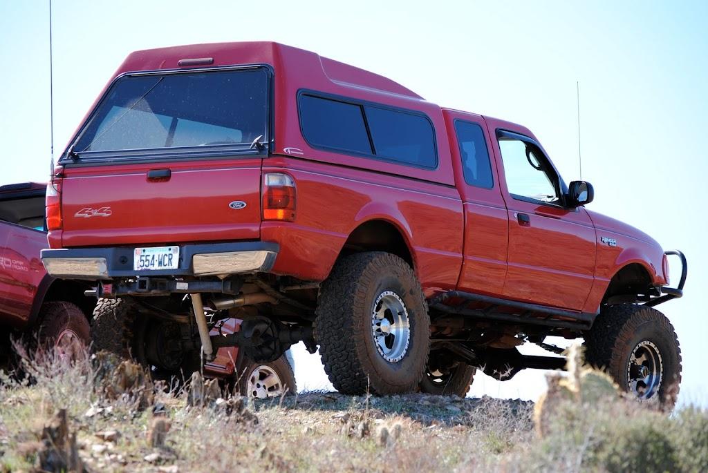 Monster Ford Ranger Monster Retarded Tacoma