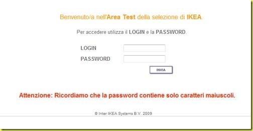 Test Ikea Catania