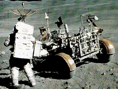 (LRV) Lunar Roving Vehicle, Rover lunar ou Molabs