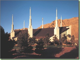 Las Vegas Temple, copyright 2008 IRI