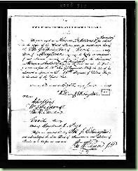 A document from Abraham Annison's CMSR