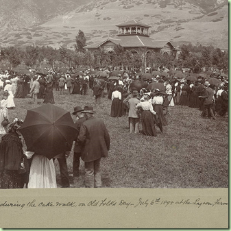 Old Folks Day, Lagoon 1895