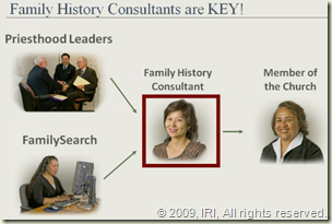 Family History Consultants are Key!