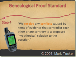 Genealogical Proof Standard Step 4