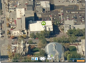 Wall Mural Icon on the FHL in Bing Maps