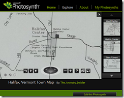 Click this image to see a Photosynth of a map of Halifax, Vermont