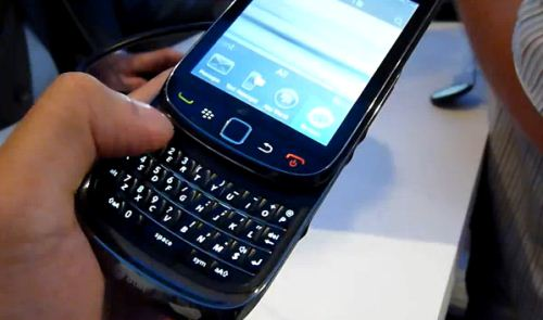Short video review BlackBerry Torch 9800