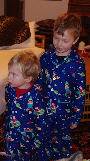 Brothers in PJs