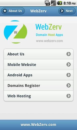 WebZerv