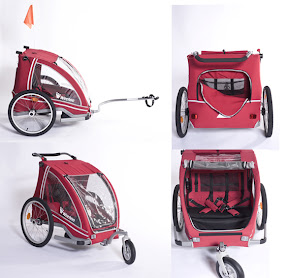 WeeHoo Buggy - High quality 2 seater trailer from the makers of the iGo - $600