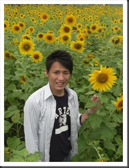 Yoshi with Sunflower
