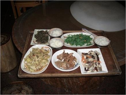 Dinner at Hostel