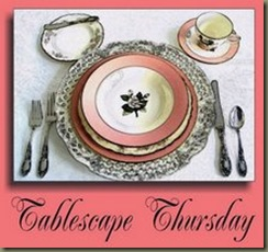 TablescapeThursday