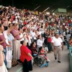 Durango Mexico Stadium Crusade worship time.jpg