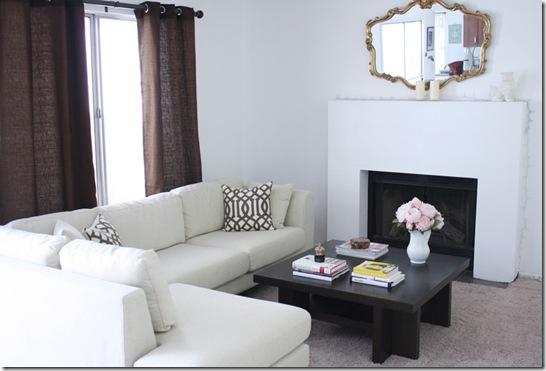 Casa de Valentina - via Made by Girl - sala de estar