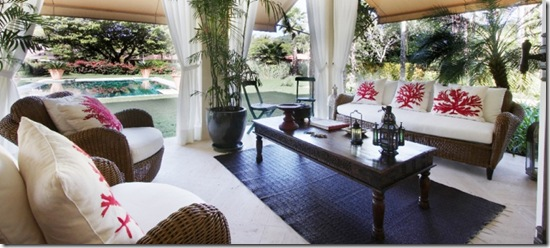 Casa de Valentina - Oficina Inglesa - Casa Rio Parati - varanda
