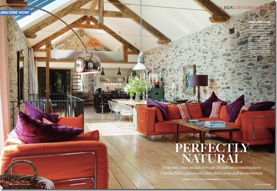 Casa de Valentina - via delight by design - sala integrada e colorida! ADOREI