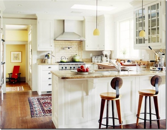 Casa de Valentina - via Kip Dawkins - cozinha aberta