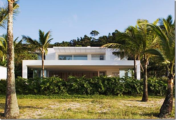 Casa de praia em Iporanga. Casa projetada por Isay Weinfeld e fotografada por Nelson Kon