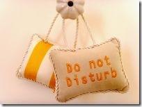 Donot disturb