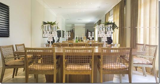 Sala de jantar para 10 pessoas por Debora Roig