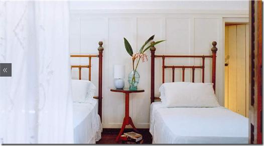 Casa de Valentina - Alice Martins e Flávio Butti - quarto casa de campo