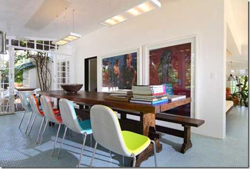 Casa de Valentina - Conrado Heck e Rodrigo Briareu - sala de jantar