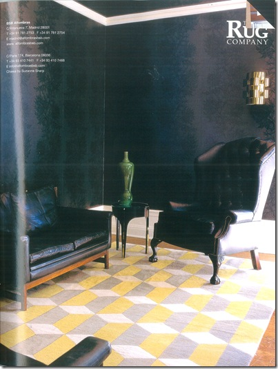 Tapete The Rug Company - Foto Architectural Digest
