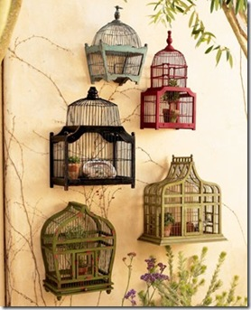Casa de Valentina - via Studio da Lú - gaiolas na parede