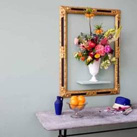 Casa de Valentina - via Livingetc - flores enquadradas