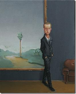 Rodrigo Cunha -Interior com duas figuras  - 2009 25x20 cada
