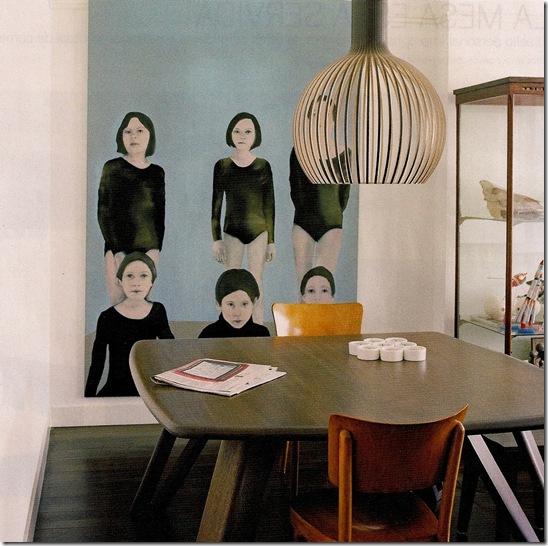 Casa de Valentina - via Arquitectura y Diseño - depois do quadro