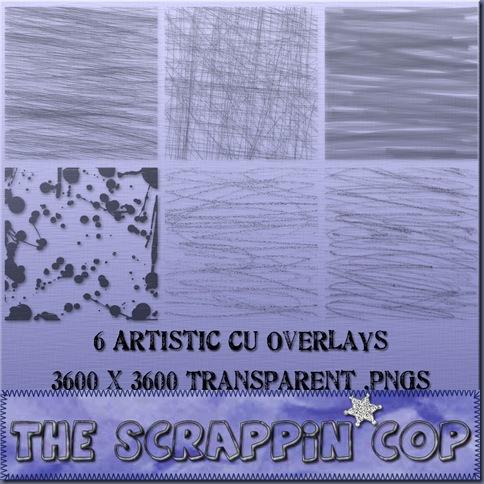 http://thescrappincop.blogspot.com/2009/08/cu-artistic-overlays.html