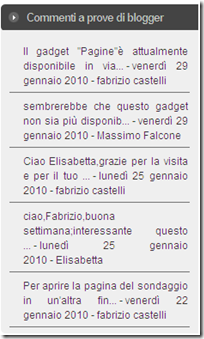 commenti in prove di blogger-blogspot-com