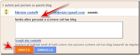 come aggiungere nuovi autori blog blogger