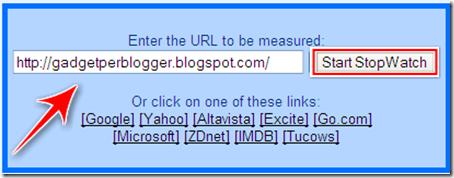 come controllare rallentamenti caricamento blog blogger