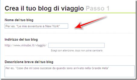 come creare condividere blog viaggio vacanze minube