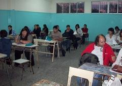 Alumnos del Primer año de la UBA en La Costa en su primer día de Clase