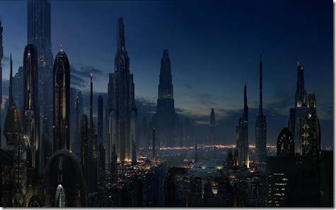 Coruscant: capital de la Republica Galáctica