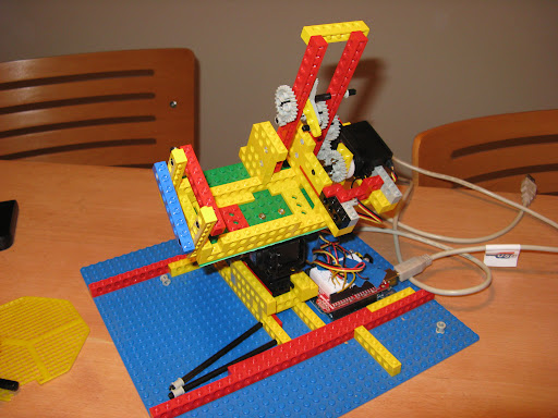 Panobot from lego technic and arduino science