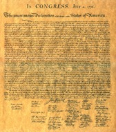Sheva Apelbaum Declaration of Independence