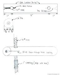 Roe Ladder Plans  - Sheva Apelbaum