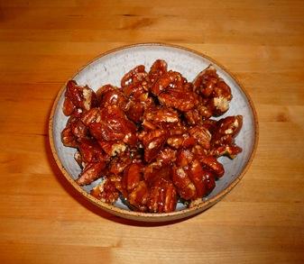 Caramelized Pecans - Sheva Apelbaum