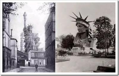 Statue of Liberty Under Construction-1 -Sheva Apelbaum