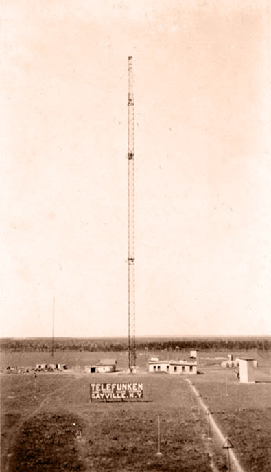 The Telefunken Company Antenna 1913-1 Sayville-Sheva Apelbaum