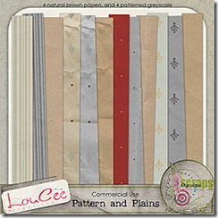 Pattern or plains