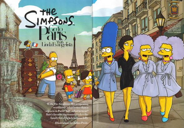 Simpsons, Paris
