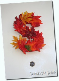fall wreath craft easy cheap